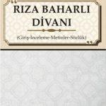 مولانا شیخرضا بهاری (باهارلی) چهره درخشان ادبی شهر بهار