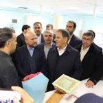 گزارش تصویری / افتتاح بیمارستان جدید الاحداث آیت اله بهاری (ره)