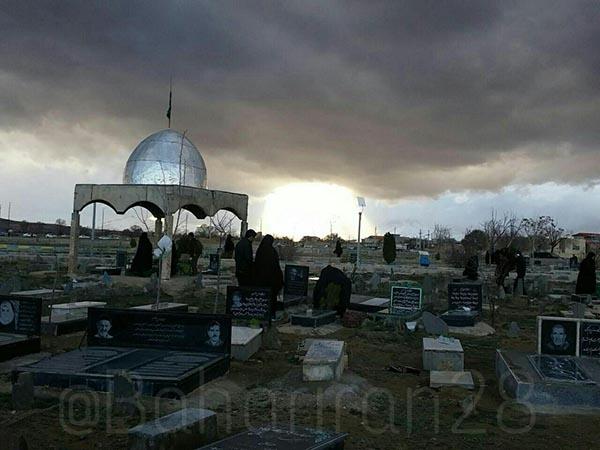 عید اموات در شهر بهار