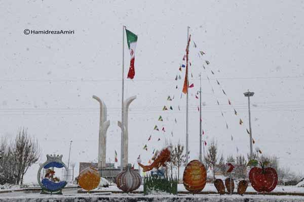 گزارش تصویری | بارش های پربرکت اخیر در شهرستان بهار