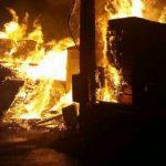 مصدومیت ۴ نفر بر اثر انفجار کپسول مایع در بهار