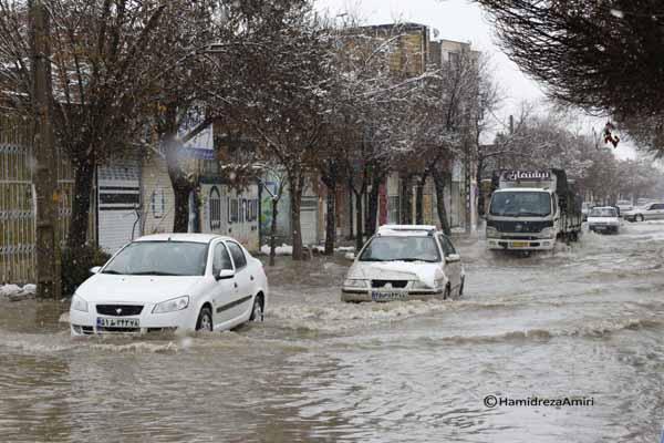 افزایش 41 درصدی بارش در استان همدان