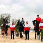 برگزاری چهارمین هفته مسابقات پرش با اسب در شهرستان بهار