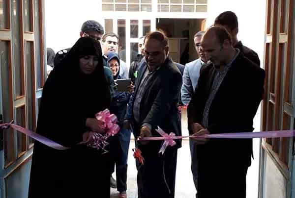 افتتاح مدرسه ژیمناستیک در شهرستان بهار