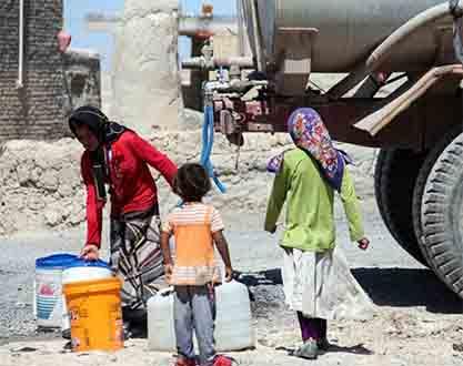 روستاهای حسینآباد عاشوری و قیدلی بلاغ بهار دارای شرایط بحرانی آبرسانی